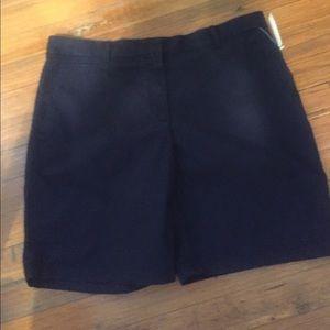 NWT Gap Boyfriend Roll Up Shorts. True Indigo